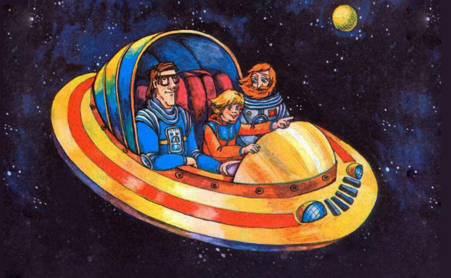 Повторюсь, благодаря этому мультфильму и «Гостье из будущего» Алиса Селезнёва стала не просто и