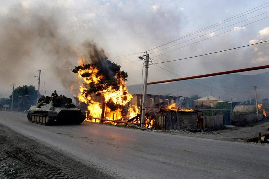 Российско-грузинский военный конфликт 2008 года: