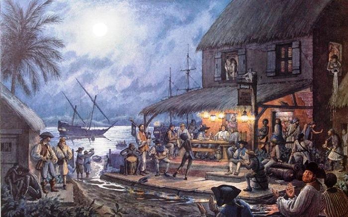Так на Сент-Мари вырос настоящий пиратский город. Свыше тысячи корсаров называли это место своим дом