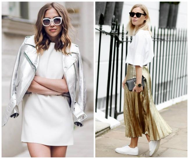 © kenzas  © wethepeoplestyle  Чтобы белая рубашка или блуза невыглядела офисной, попроб