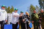 29 апреля во всех поселениях Щелковского района прошла акция Лес Победы, в ходе которой было высажено тысячи деревьев Центральной площадкой стали земли лесного фонда рядом с деревней Головино