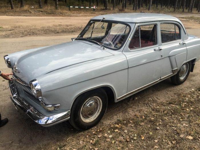Волга 1962 года выпуска