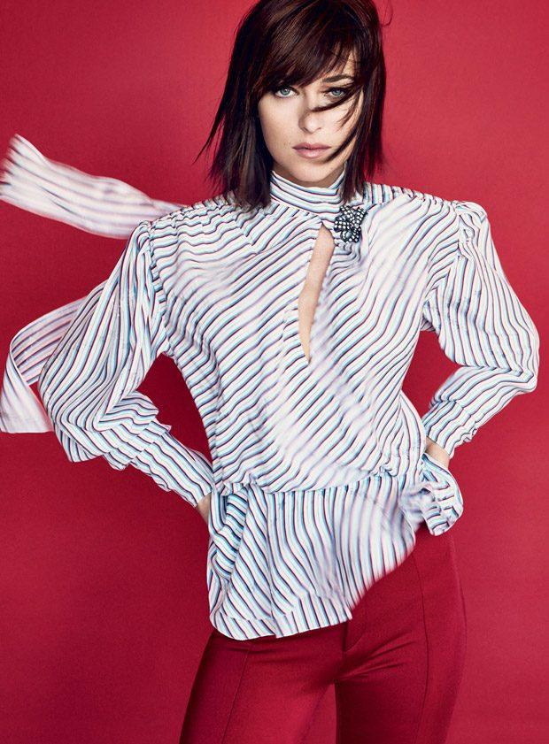 Dakota Johnson Stars in American Vogue February 2017 Cover Story