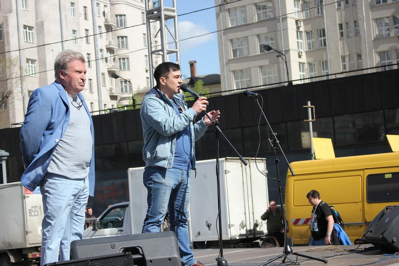 Александр Рыклин и Сергей Давидис
