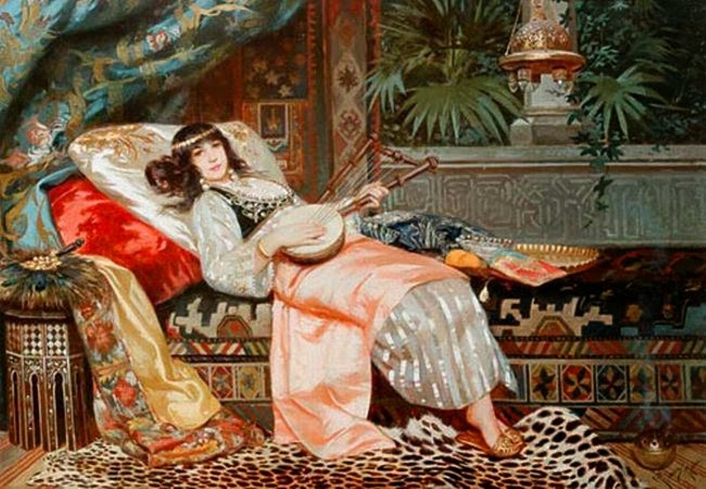 6 casimiro-tomba-italian-1857-1929-e28093-lady-of-a-harem-making-music.jpg