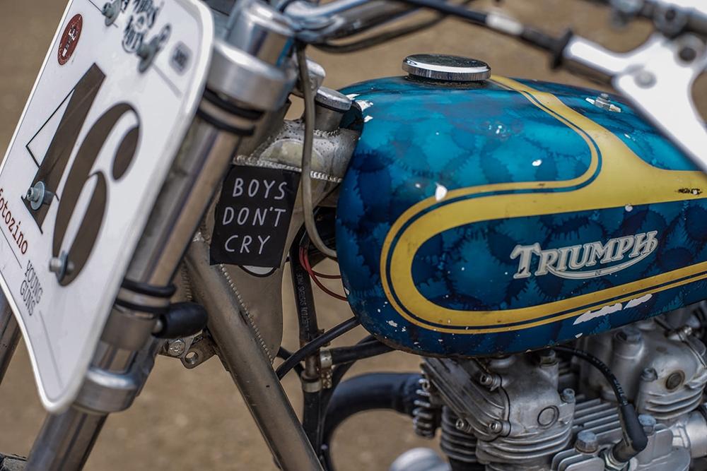 Young Guns Speed: флэт-трекер Triumph Trackmaster 1971