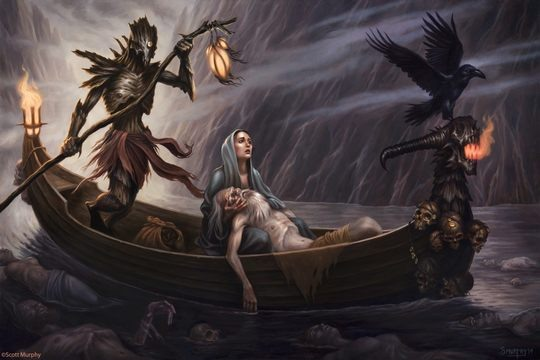 Fantasy Illustrations by Scott Murphy