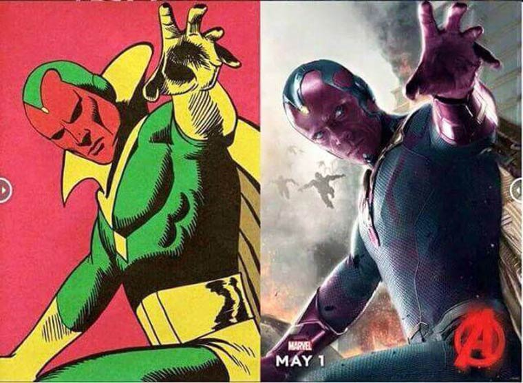 Avengers - When the modern superheroes meet the style of vintage comics