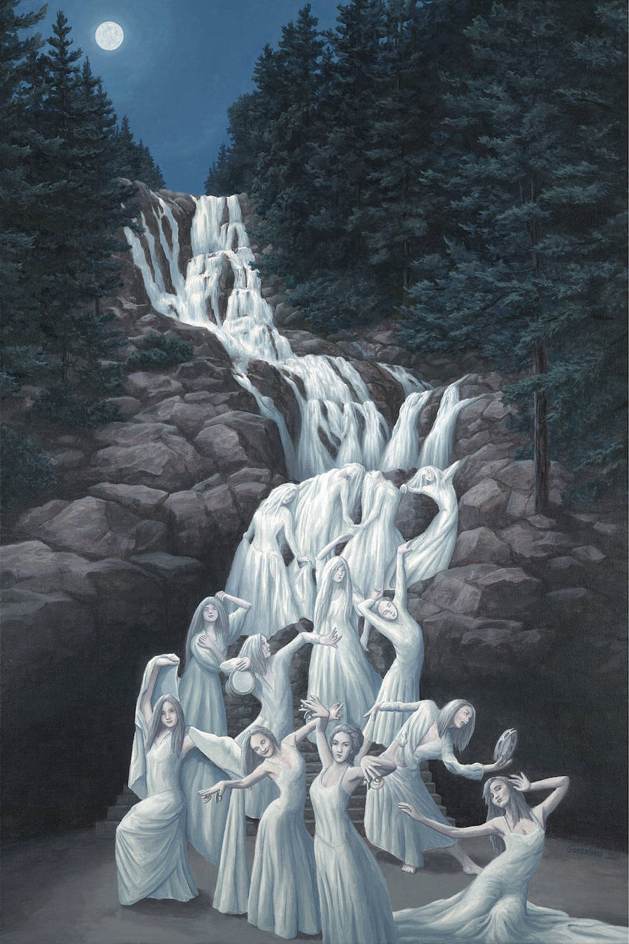 Optical Illusions Paintings
