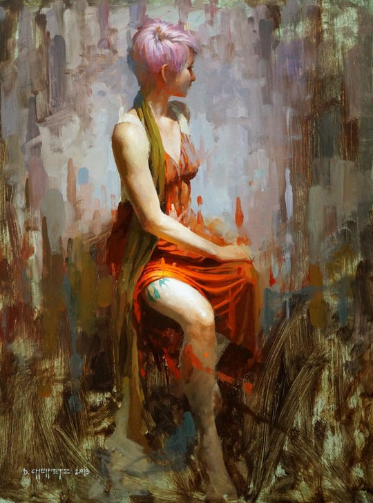 Beautiful Paintings by David Cheifetz