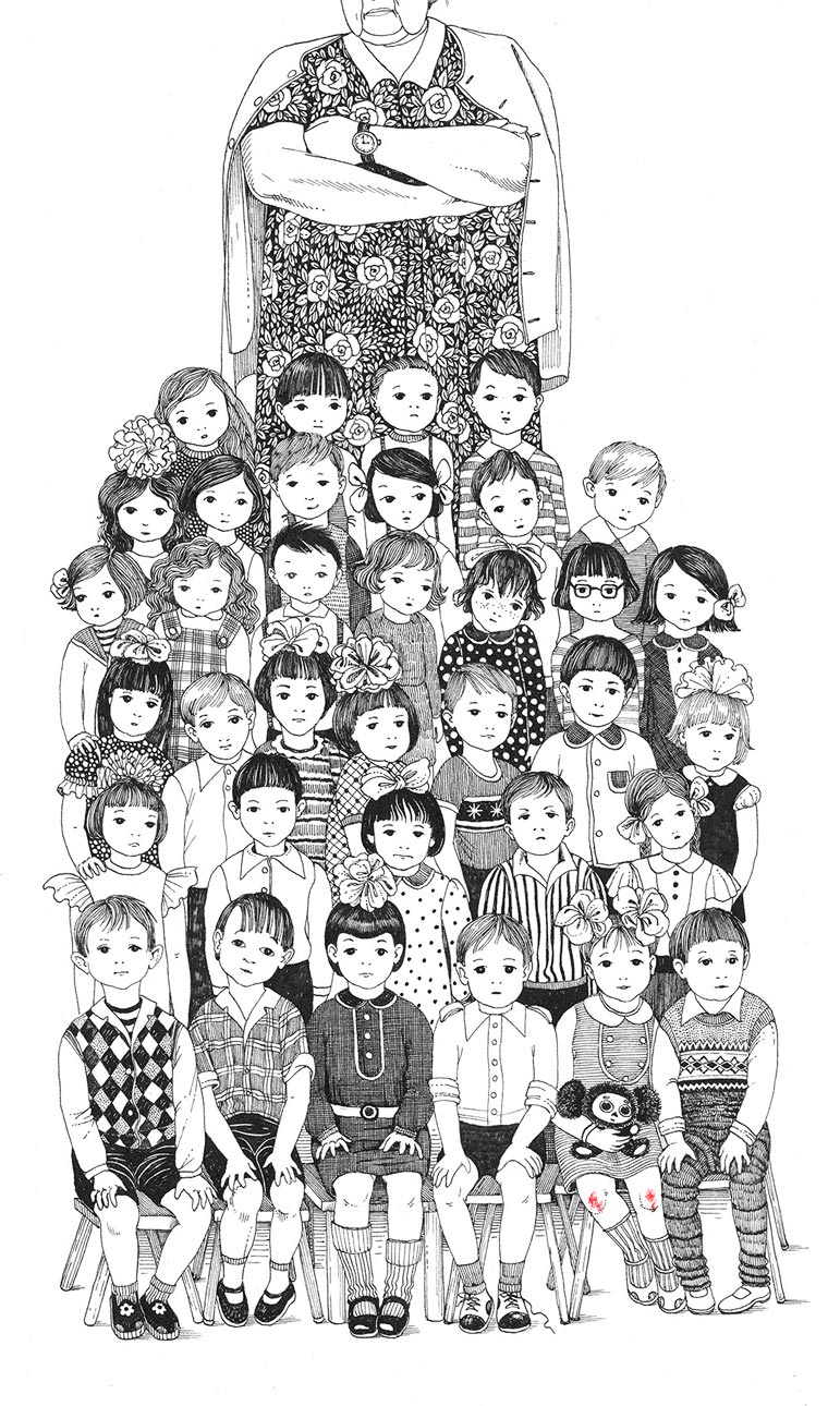 My Childhood - Les jolies illustrations poetiques de Sveta Dorosheva