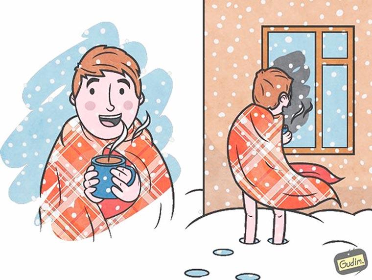 Les illustrations sarcastiques d'Anton Gudim