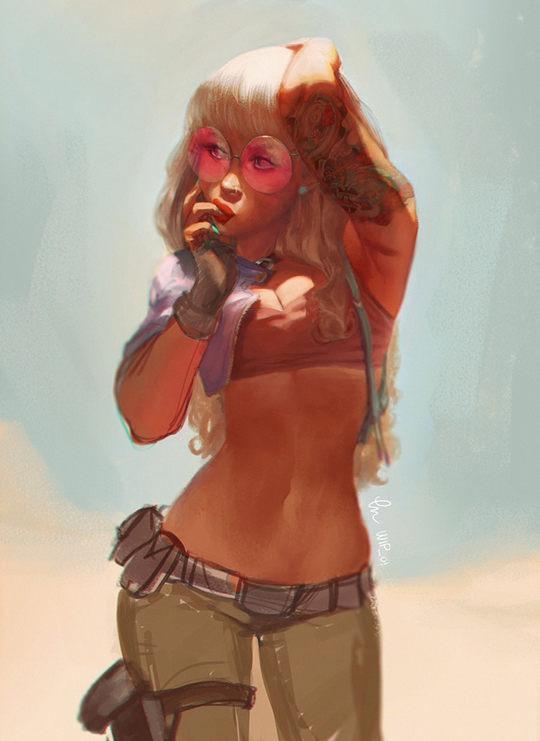 Amazing Digital Art by Caroline Gariba