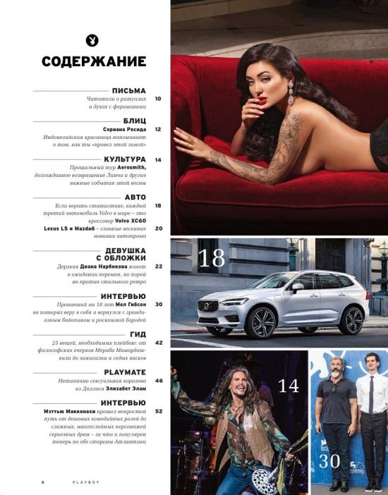 Журнал Playboy №3 март 2017 [Россия]