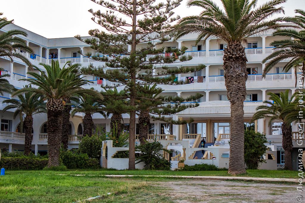 отель Les Colombes Тунис
