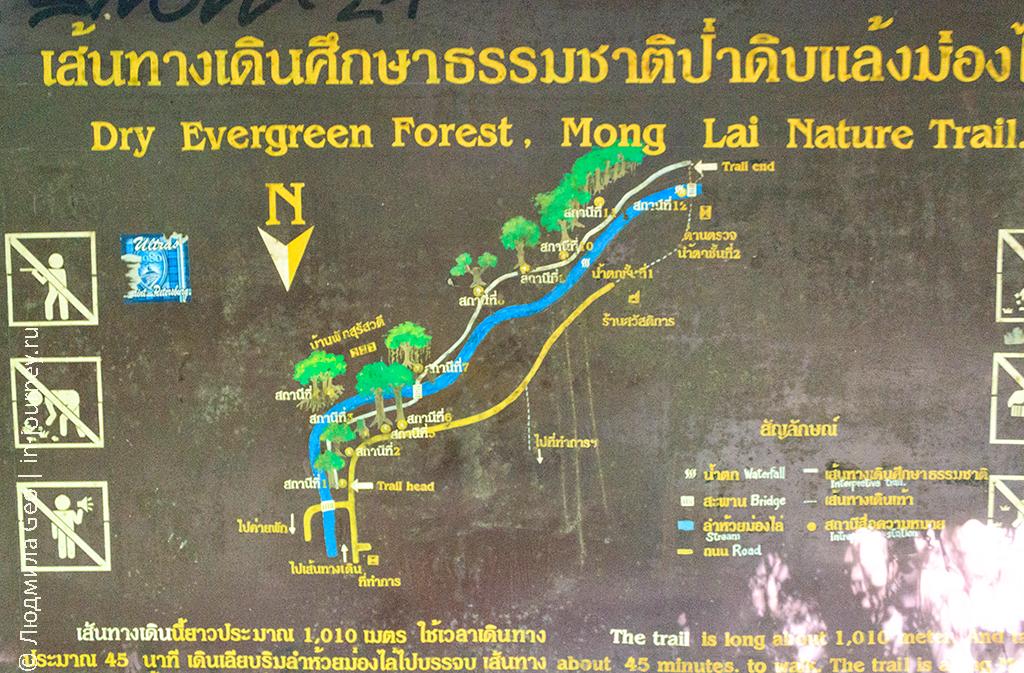 карта тропы эраван