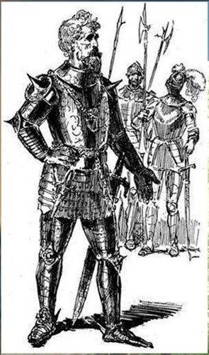 Рисунки художника Г. Г. Филипповского. Ил - я романа В. Скотта. Квентин Дорвард (7).jpg