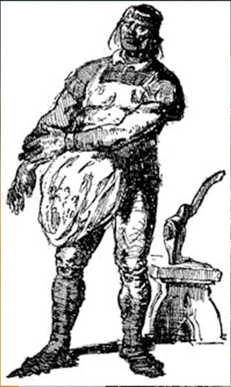 Рисунки художника Г. Г. Филипповского. Ил - я романа В. Скотта. Квентин Дорвард (25).jpg