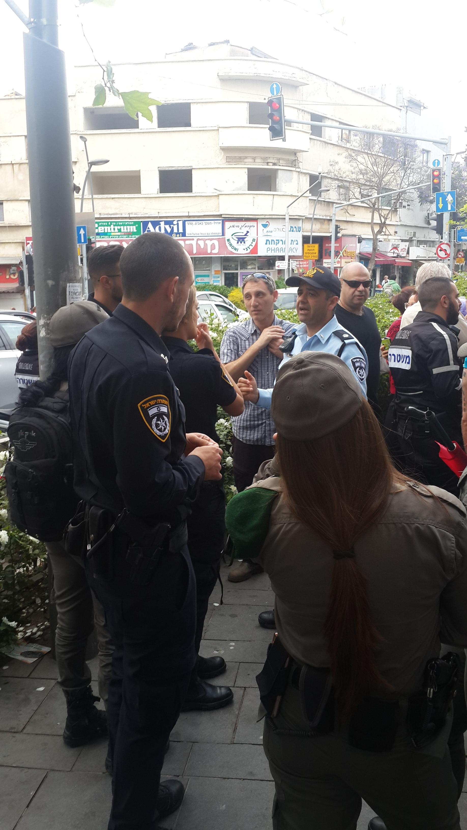 05. Полиция в точке сбора