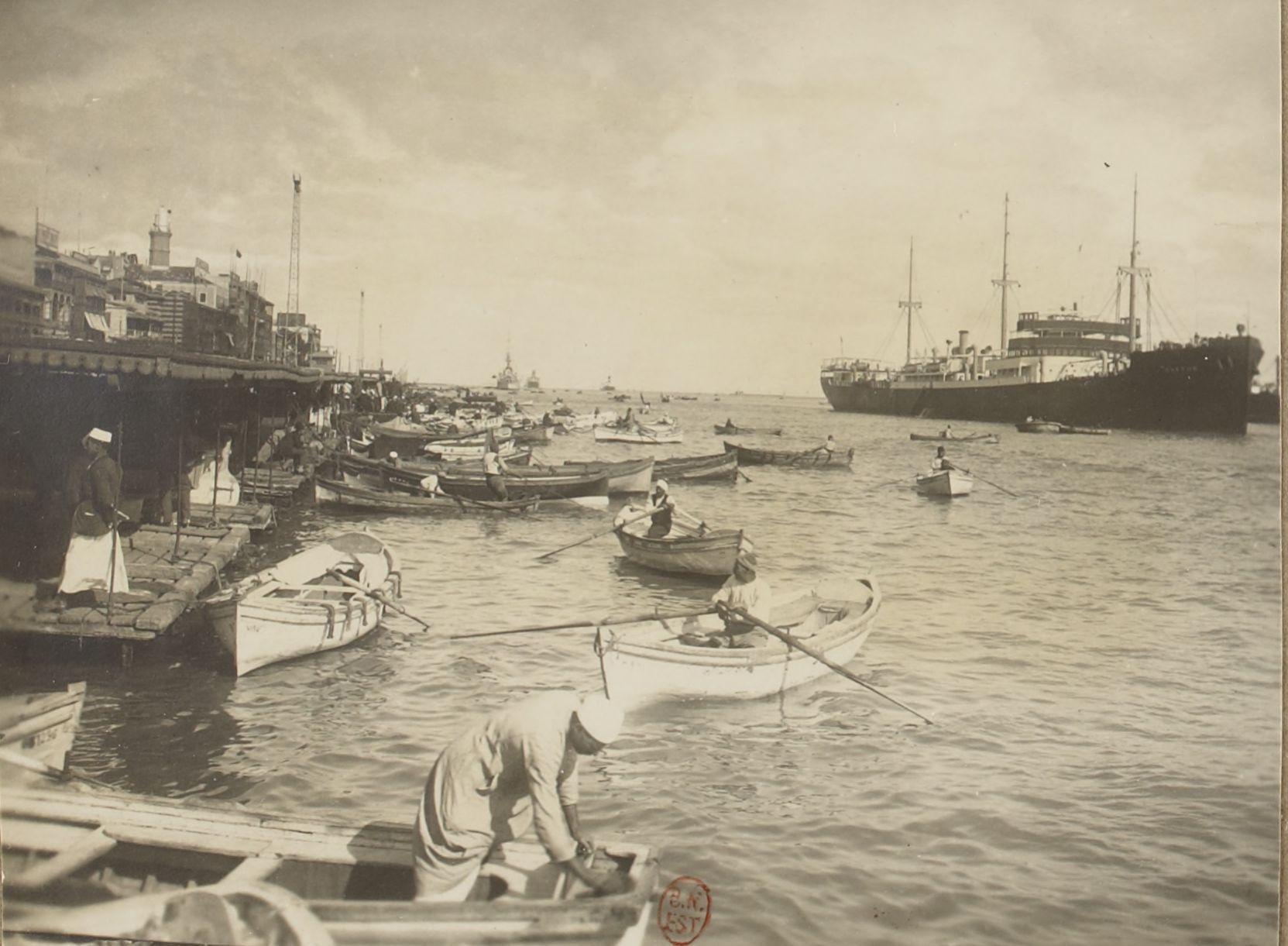20. Порт Саид. В гавани