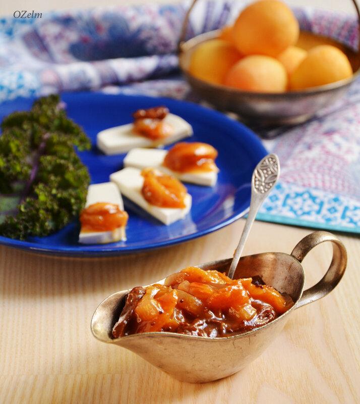 Чатни из абрикосов и перца