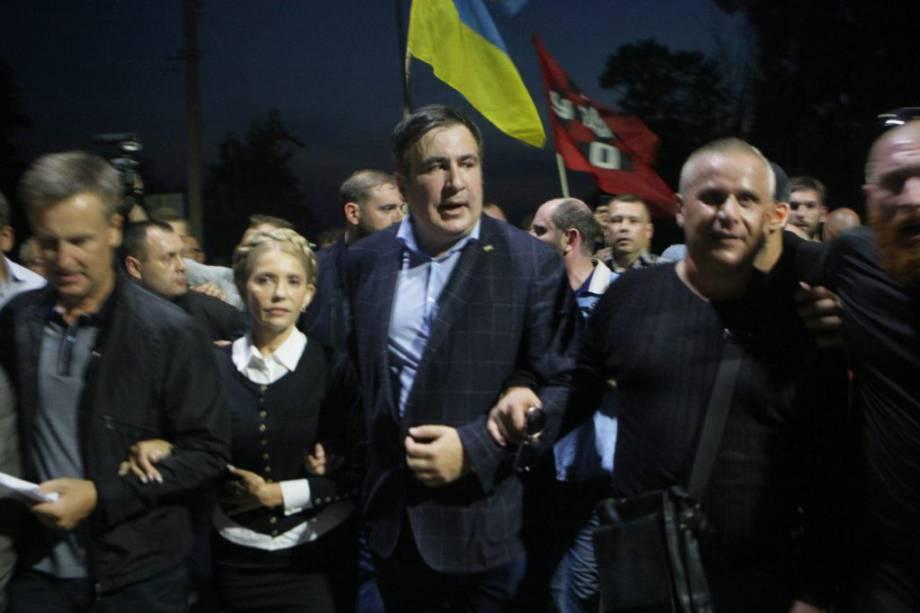 Паспорт Саакашвили исчез после проверки автобуса полицией и пограничниками на украинской границе — РНС