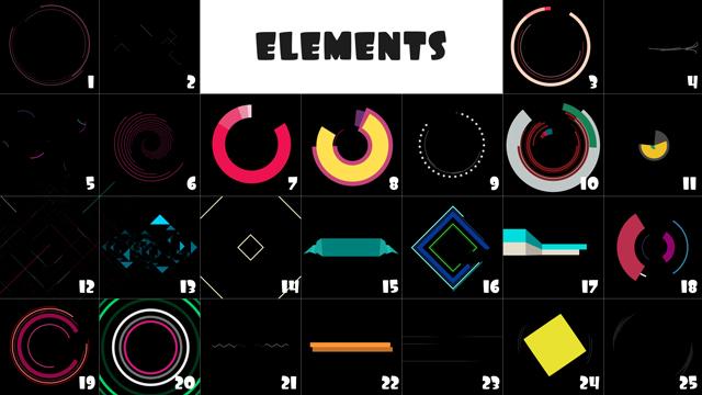 elements 1-25