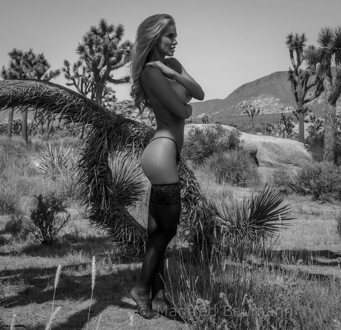 Leanna Bartlett American Supermodel / фото Manfred Baumann