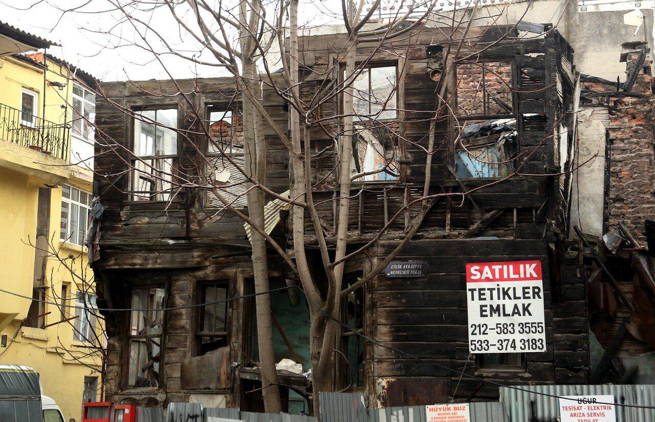 Стамбул. Улица Кадырга Лимани (Kadırga Limanı Caddesi)