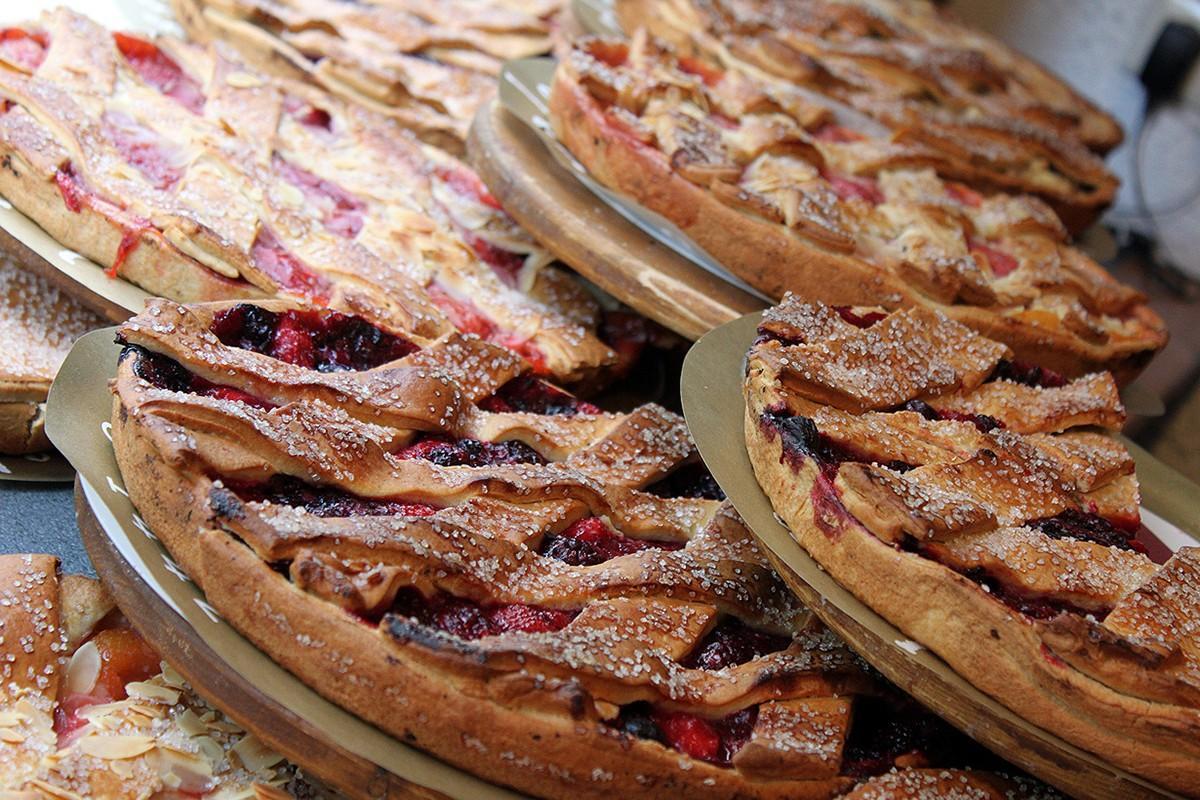 13. Фруктовые пироги. (Pure Pink Sugar)
