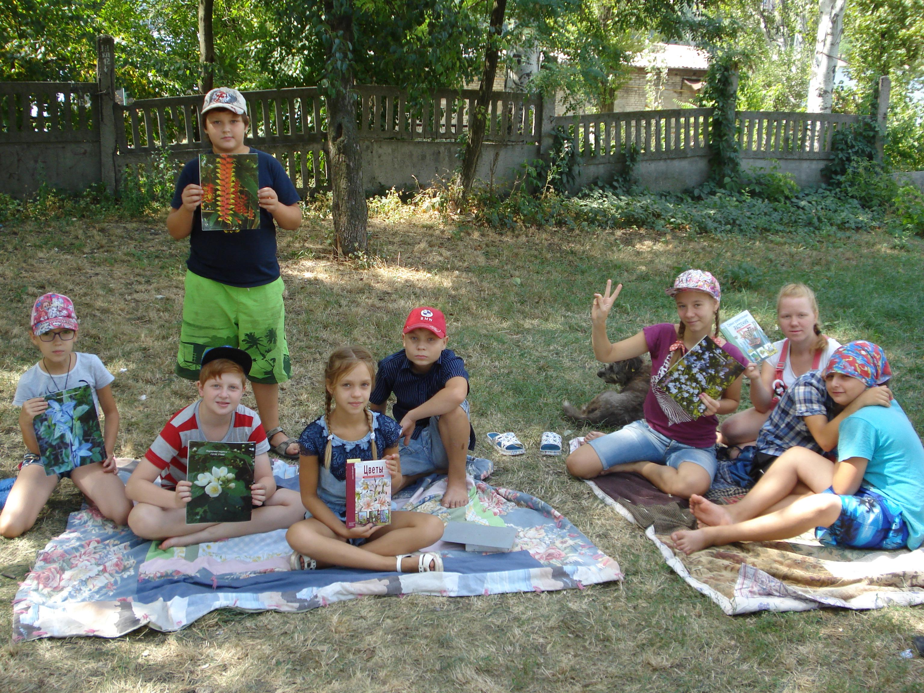 занятия с детьми, донецкая республиканкая библиотека для детей, отдел обслуживания 5-9 классов