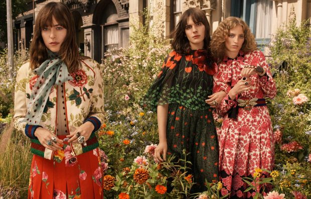 Discover Gucci Bloom 's fragrance campaign captured by fashion photographer Glen Luchford with