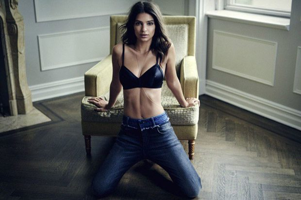 Emily Ratajkowski is the Face of DL1961 Fall Winter 2017.18 Collection