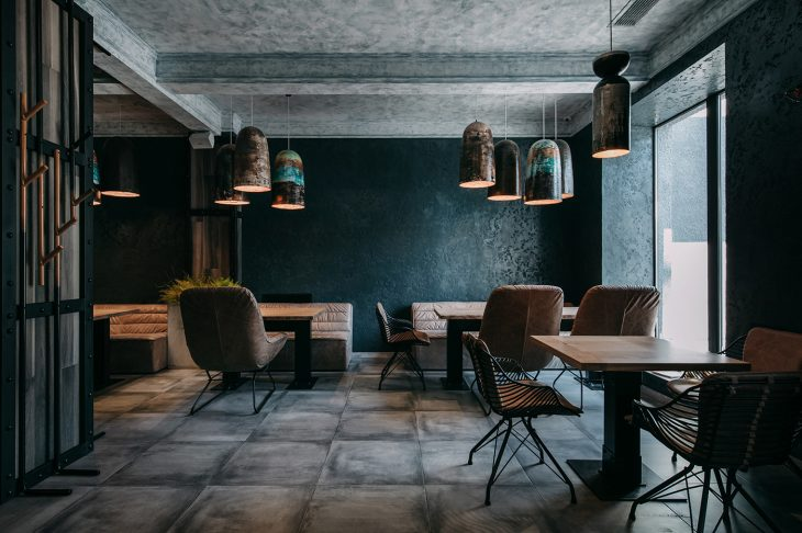 Designed by Sergey Makhno & Alexander Kovpak , this modern interior is an alternate story for the ol