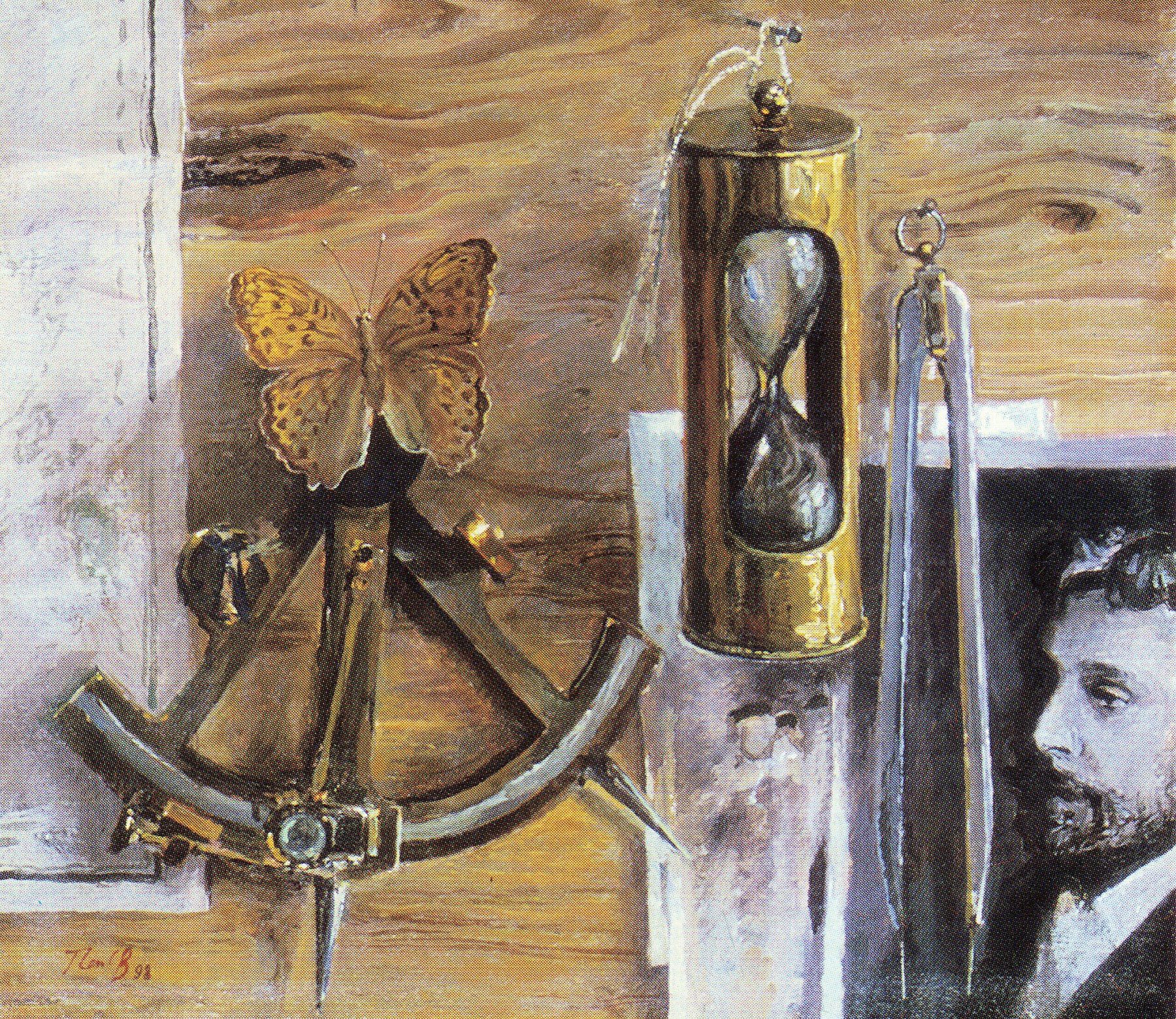 Композиция с фотографией Станюковича. 1998.jpg