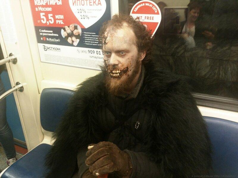 Зима близко или что творилось в московском метро