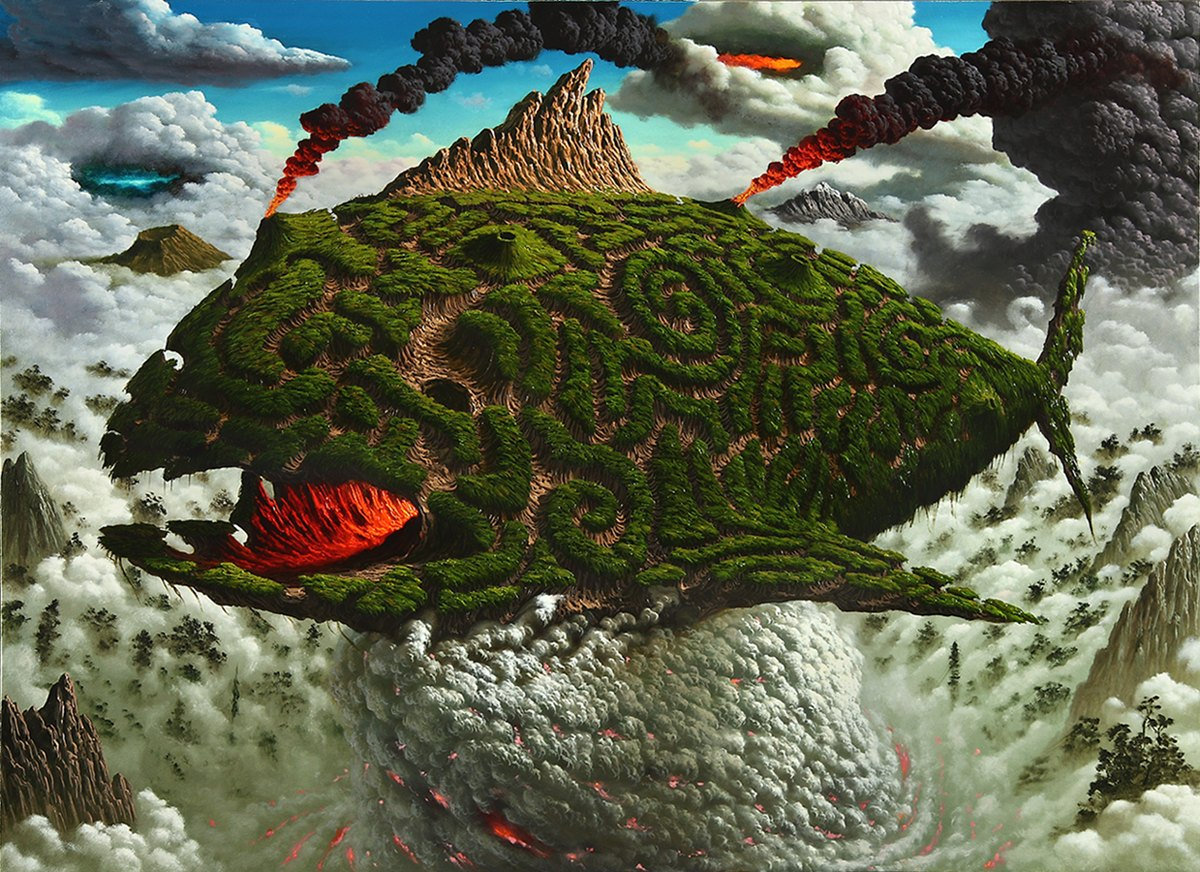 Ashes To Ashes - Surreal Oil Paintings - Fulvio Di Piazza