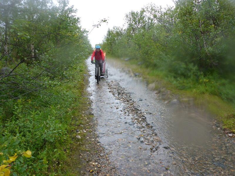 велопоход по старой почтовой дороги Альта - Каутокейно (old postal road alta - kautokeino)