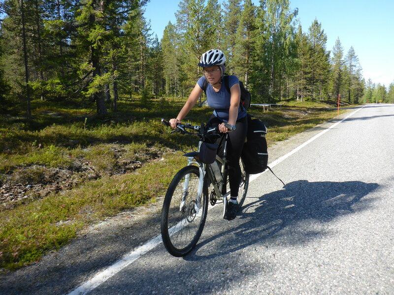 велопоход по лапландии