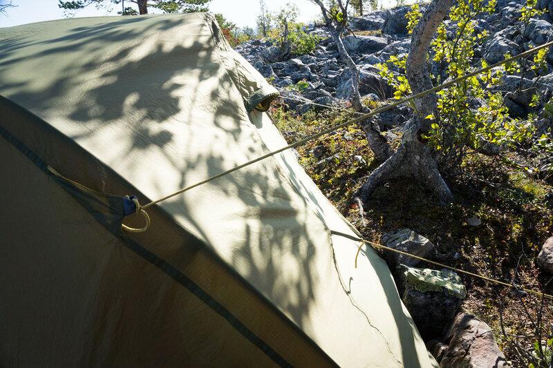 оттяжки на палатке снаряжение cetus 3