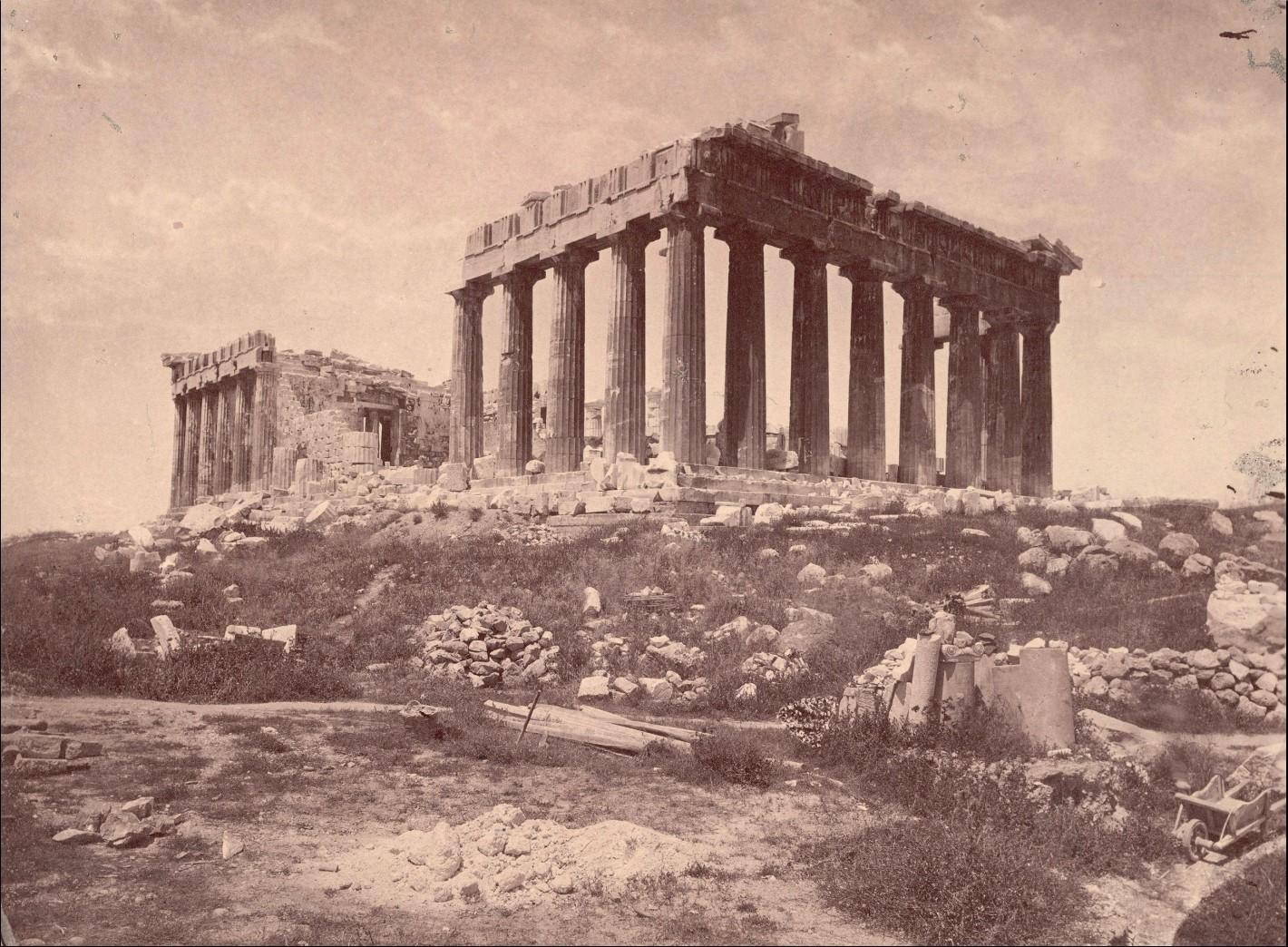 Акрополь. Парфенон с юго-востока