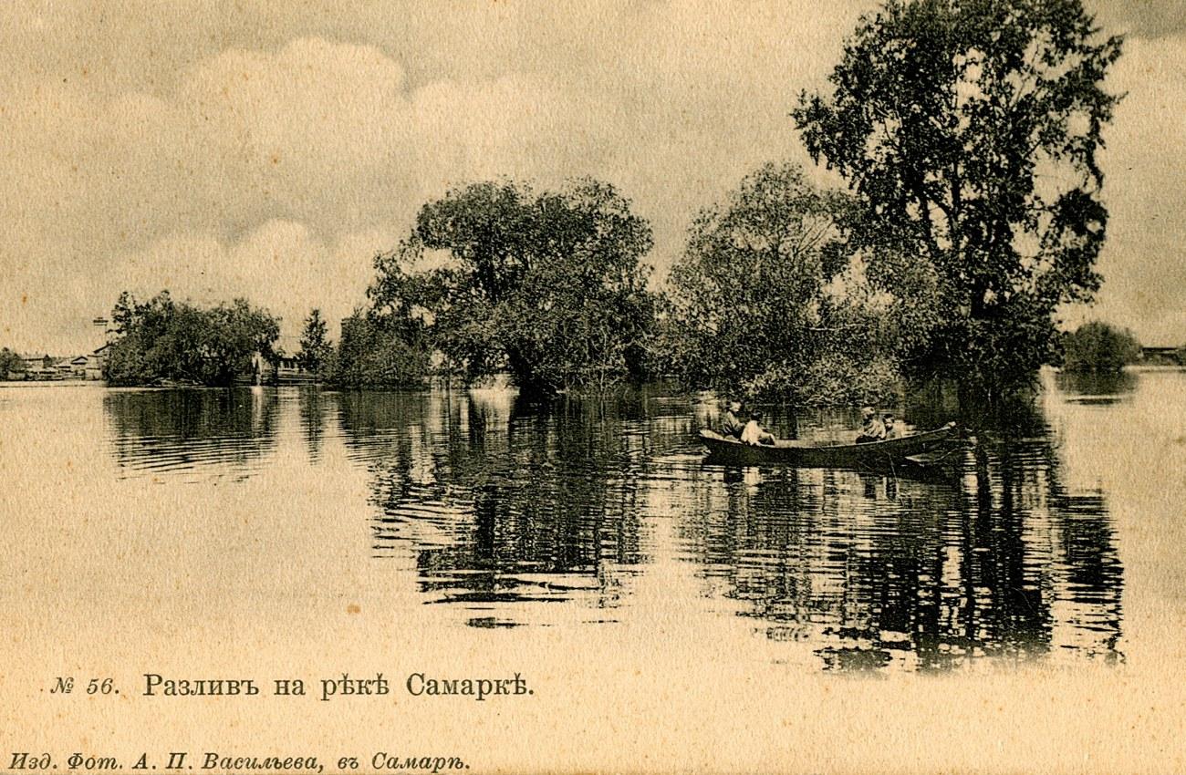 Разлив на реке Самарке
