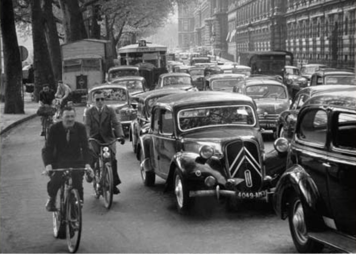 1955. Набережная Лувра