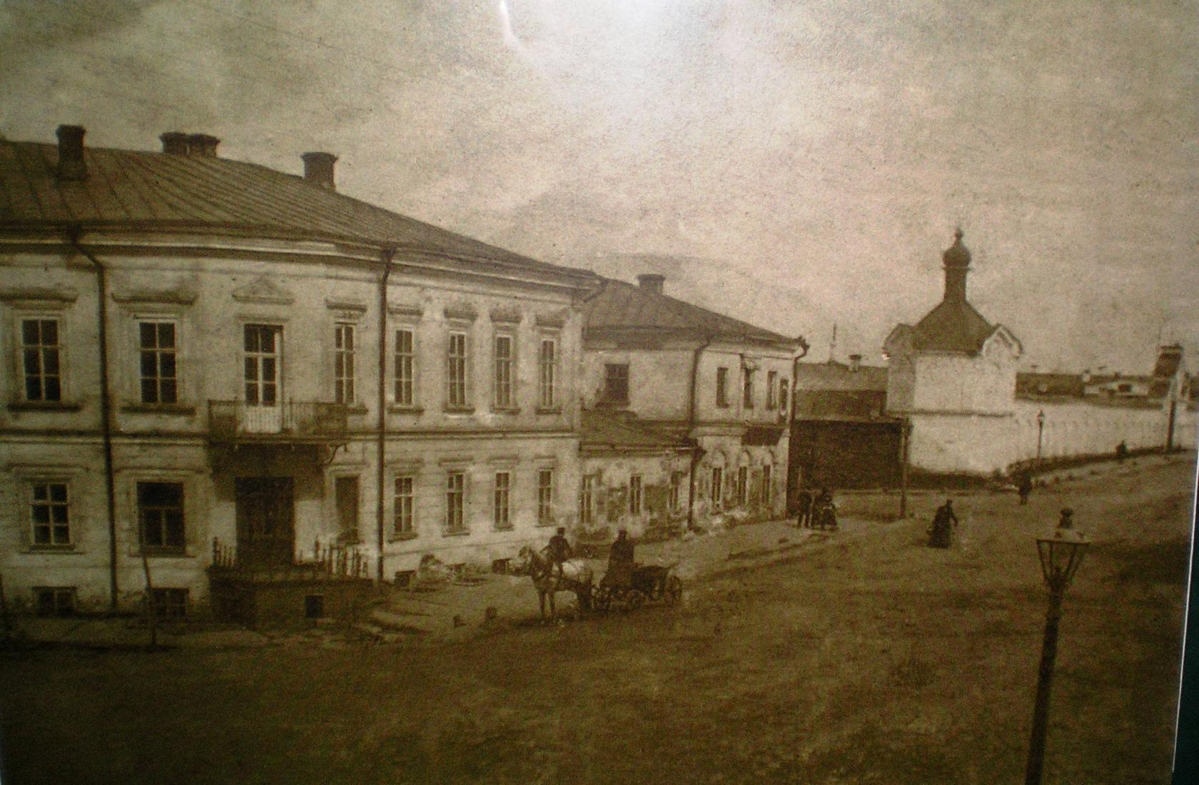 Перекресток Спасской с Московской