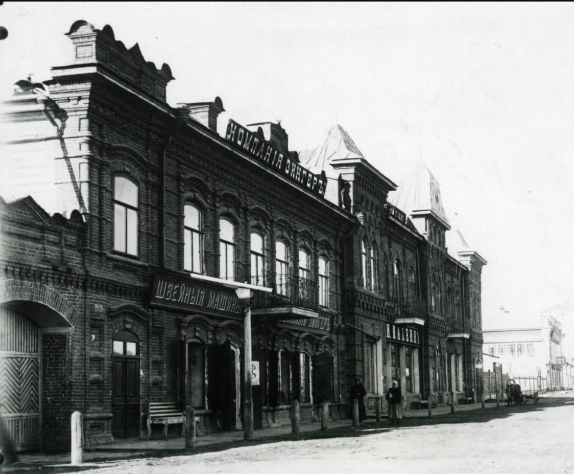 Дом Калнина с магазином Зингер