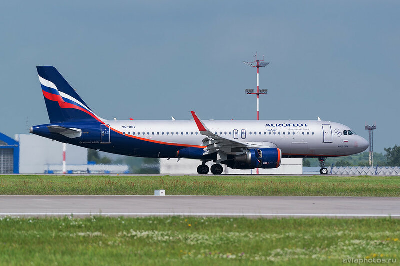 Airbus A320-214 (VQ-BRV) Аэрофлот 341_D802120