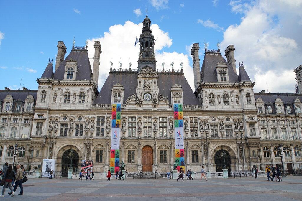 Парижская мэрия (отель де виль)