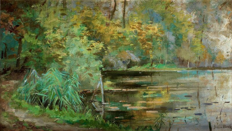 Canvas 24 x 41 cm.