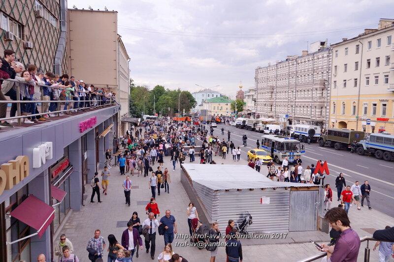 Времена и эпохи 2017 на Тверской