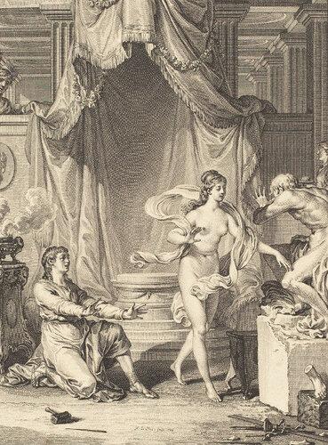 Jean-Michel Moreau  Pygmalion Пигмалион